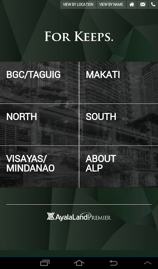 Ayala Land Premier- screenshot