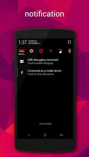 Dark Pink CM11 PA theme