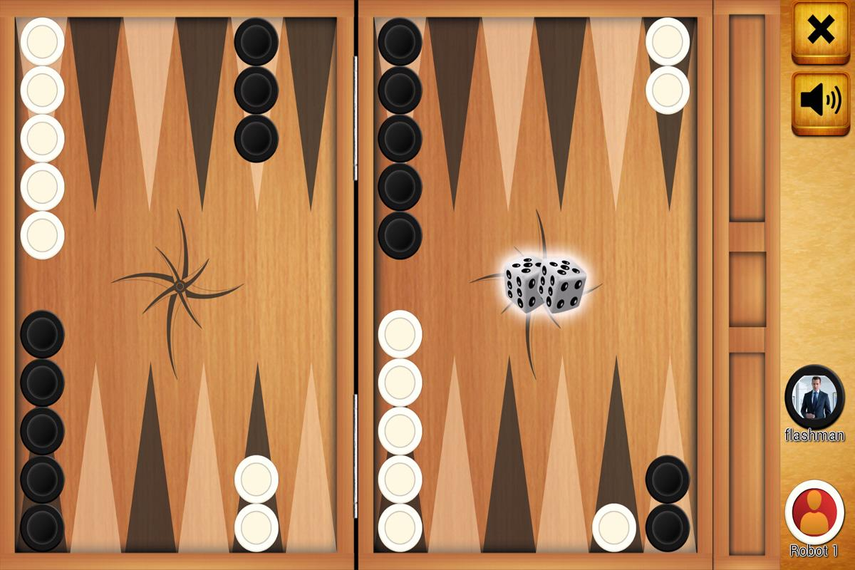 Backgammon (Tabla) online live- screenshot