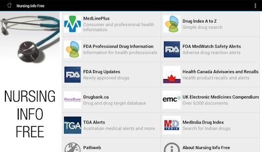 玩免費醫療APP|下載Nursing Info Free app不用錢|硬是要APP