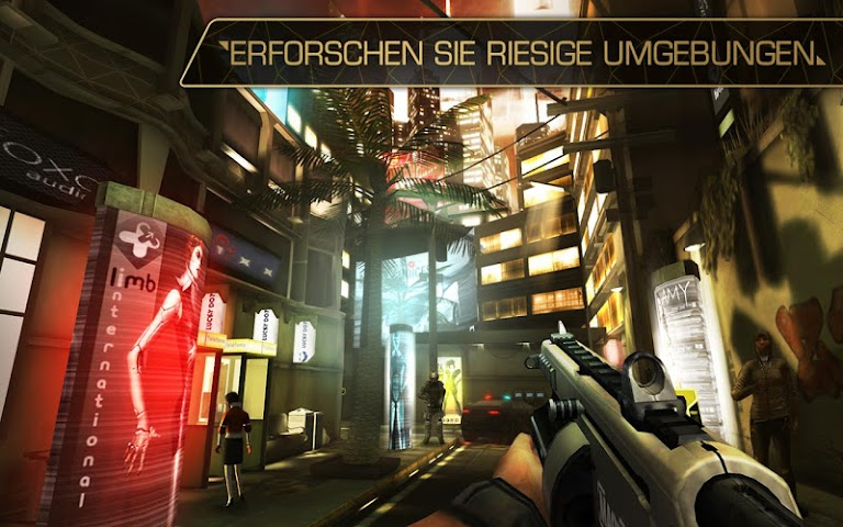 android Deus Ex: The Fall Screenshot 6