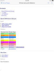 WikEM - Emergency Medicine Screenshot 10