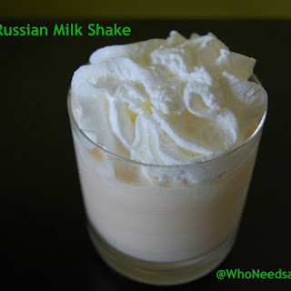White Russian Milk Shake.