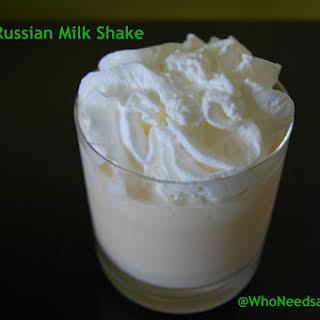 White Russian Milk Shake.