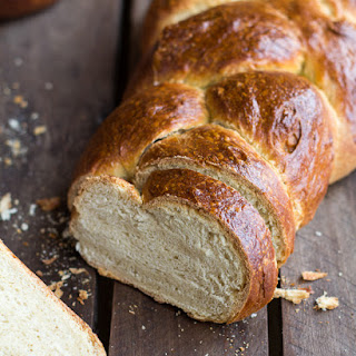 Simple Whole Wheat Challah Bread.
