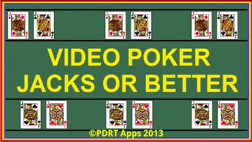Jacks or Better Poker Free