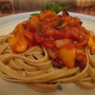 Tomato and Basil Pasta Sauce
