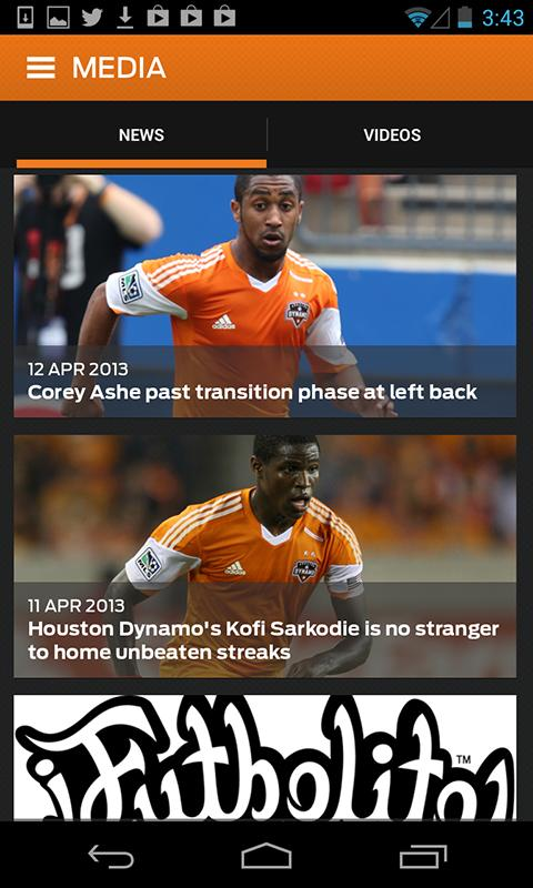 Houston Dynamo - screenshot