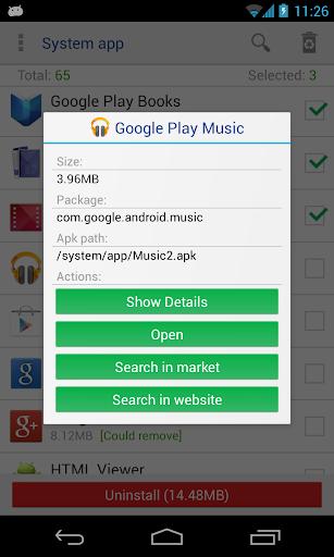 system app remover pro  screenshots 2