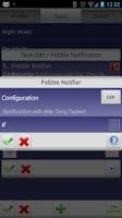 Screenshot of Pebble Notifier