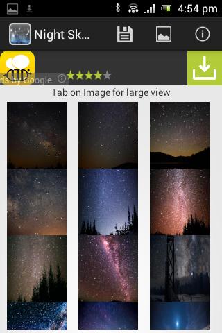 Night Sky Wallpaper HD