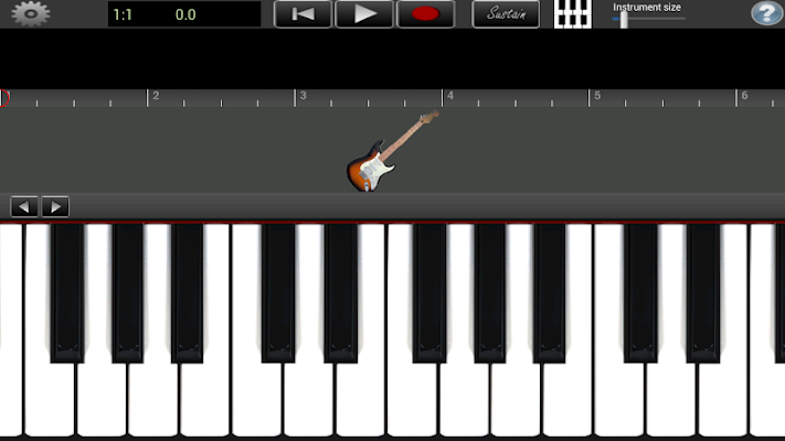 Electric Guitar Lite - screenshot