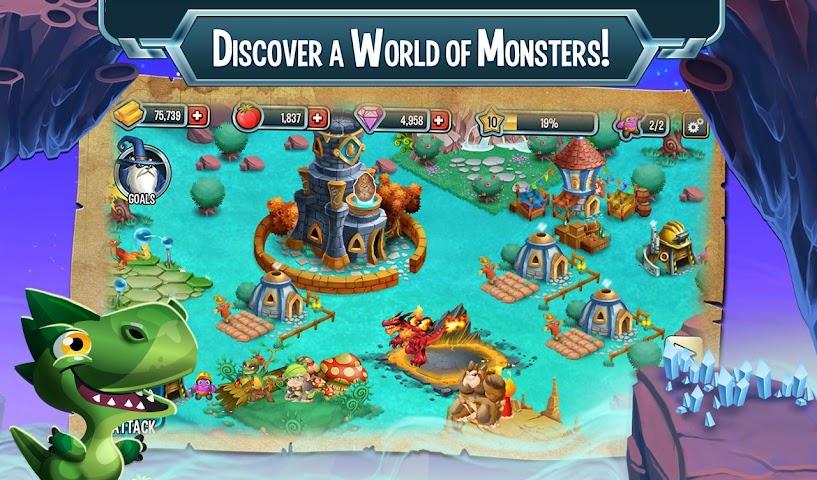 android Monster Legends Screenshot 1
