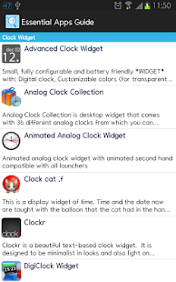 Essential Apps Guide- screenshot thumbnail