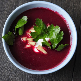 Apple Beet Soup