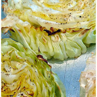 Cabbage Steaks Recipe Grilled or Baked.