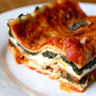 Spicy Kale Lasagna.