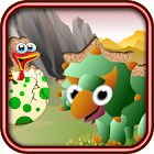QCat Toddler Dino Puzzle free icon