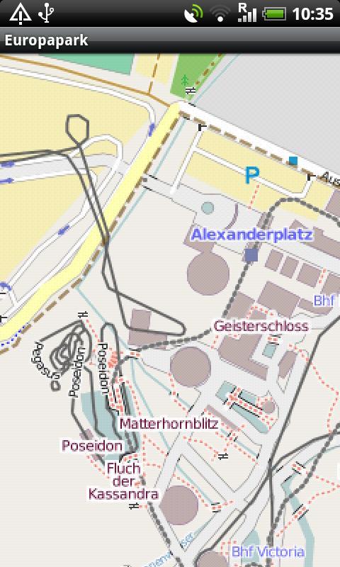 Europapark Street Map- screenshot