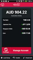 Screenshot of Global Wallet