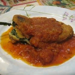 Real Chiles Rellenos.