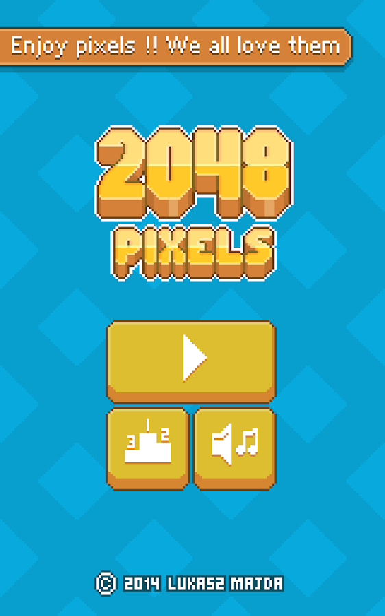 2048 Pixels- screenshot