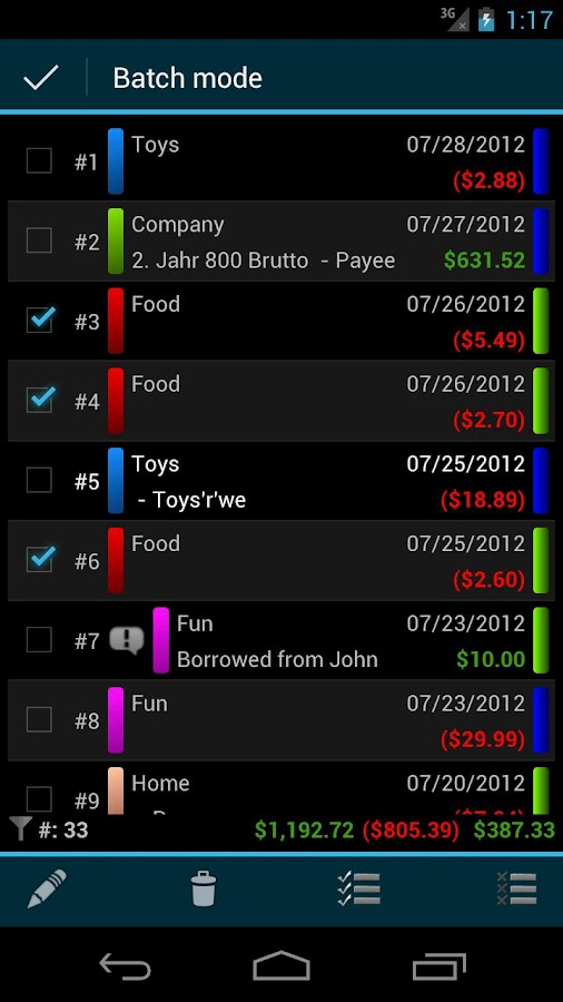 MoneyDroid Pro- screenshot