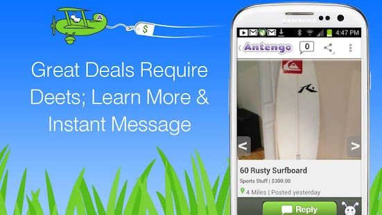 Antengo Free Local Classifieds - screenshot thumbnail