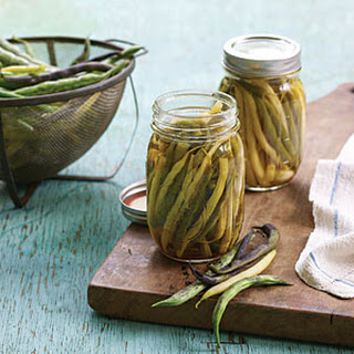 Pickled Dilled Beans.
