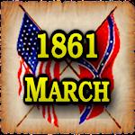 1861 Mar Am Civil War Gazette