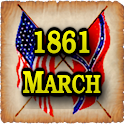 1861 Mar Am Civil War Gazette icon