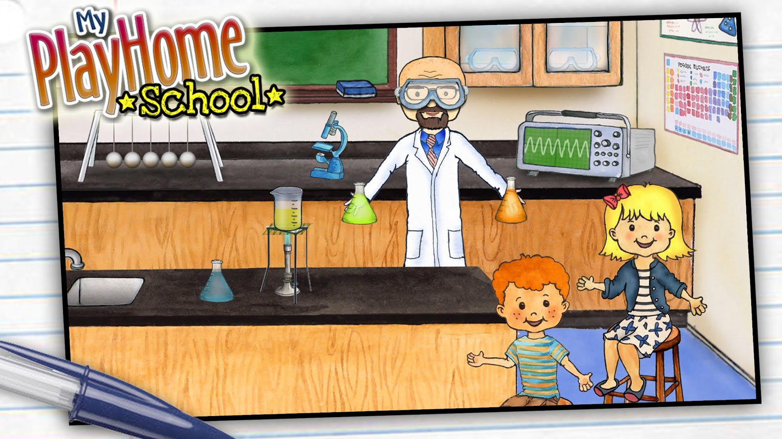 My playhome school android apps on google play for My home pictures for kids