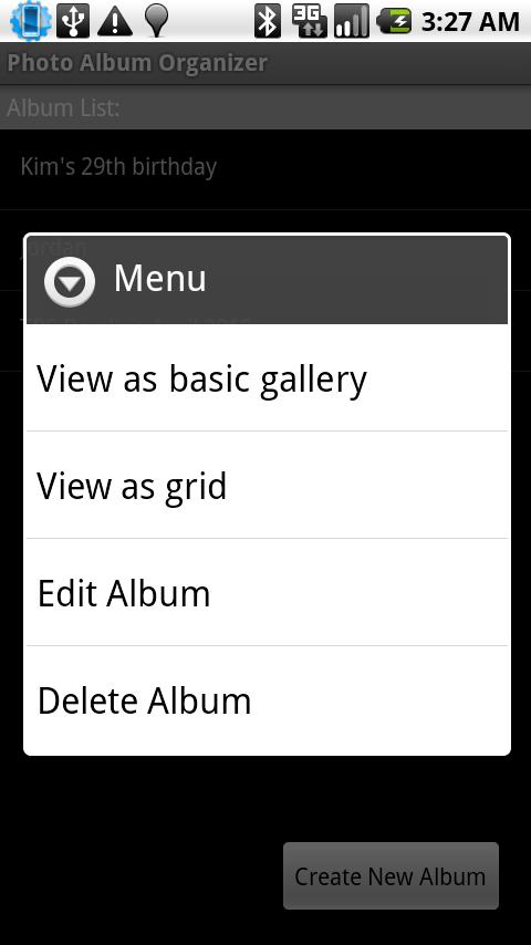 Photo Album Organizer - screenshot