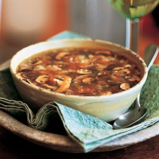 Wild Mushroom Soup (Sopa de Hongos)