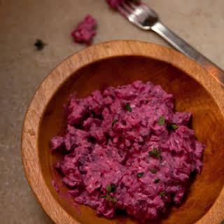 Herring and Beet Salad.