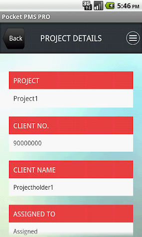 Project Management System PRO Screenshot