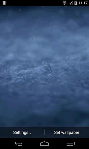 Water splashes Video LWP