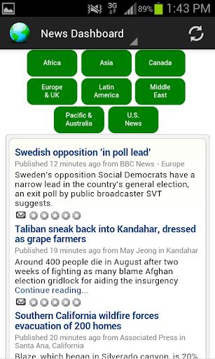 【免費新聞App】News Dashboard for RSS Feeds-APP點子
