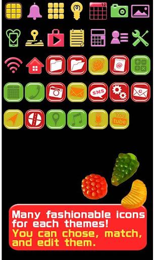 Cute Wallpaper Candy Fruits 1.1 Windows u7528 4