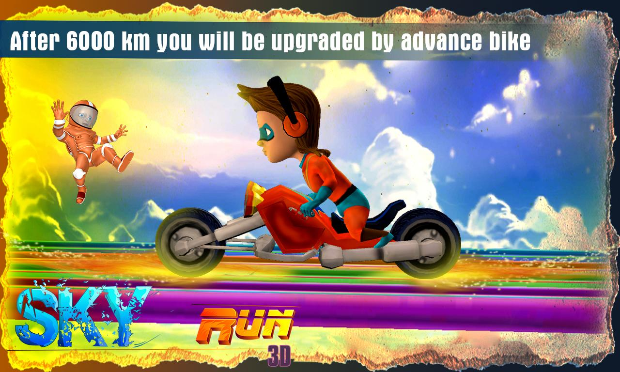 Sky Run 3D- screenshot