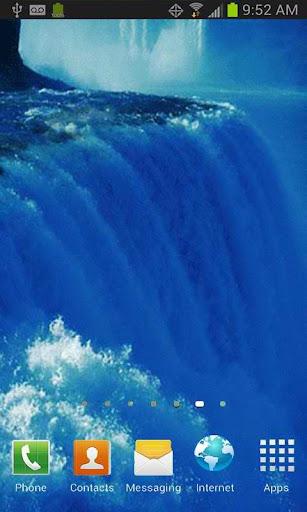 Raging Waterfalls Free LWP