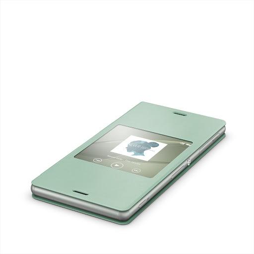 Xperia™桌布︰銀綠色