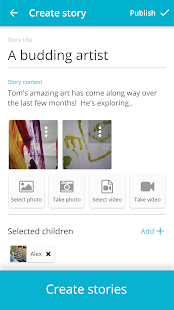 Storypark for Teachers- screenshot thumbnail
