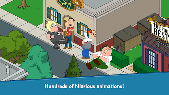 Family Guy The Quest for Stuff Screenshot 7
