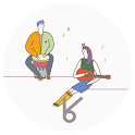 Larlala band(Atom+Kakao theme) icon