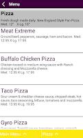 Screenshot of Hot Z Pizza