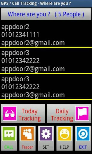 GPS Call Tracking Soft Ver.