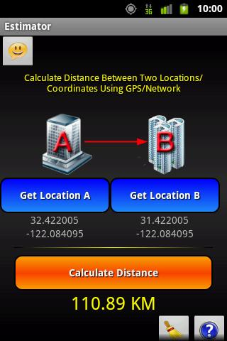 Distance Estimator- screenshot
