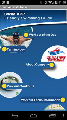 Swim Workouts To Go