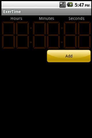 ExerTime - screenshot